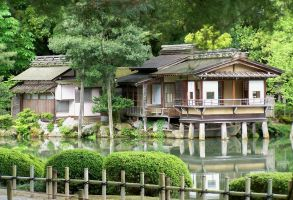 Uchihashi Tea House by ArtbyMom