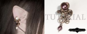 Baroque Ear Cuff Tutorial by VectoriaDesigns