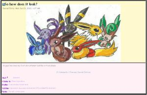 Eevee Evolutions Skin by AbyssinChaos