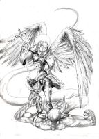 Michael the Archangel by razwit