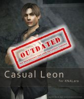 Casual Leon for XNALara by raccooncitizen