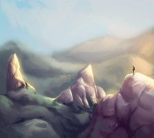 Mountain Ranges by equillybrium
