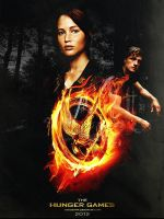 thg. the hunger games poster. by itstoodark