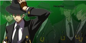 Hazama Wallpaper by Huyosumi