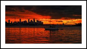 Sydney Sunset VI by psyfre
