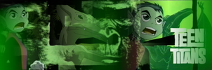 Beast Boy Banner by SailorTrekkie92