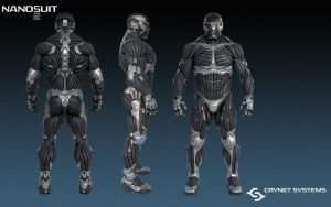 Crysis Nanosuit 2 by BradNightingale