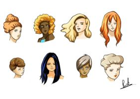 Hairstyles by Riccardo80
