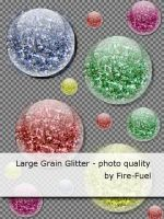 Large Grain Glitter by Fire-Fuel