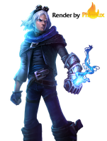 Frost Ezreal by Phinnux