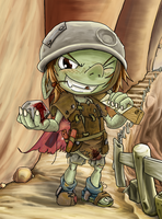 Goblin token by no-wing
