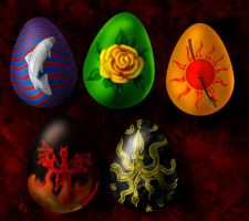 Asoiaf Easter Eggs by guad