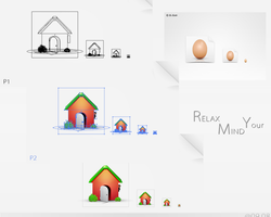 Homes_Eggs_Icons_Set by dstyler