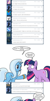 Ask Twixie Tumblr #219 by Dekomaru