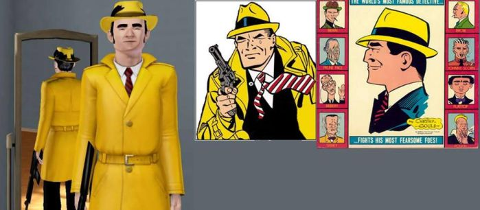 Dick tracy comic by Alberta360