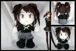 Persona 4: Rise plushie by eitanya