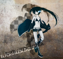 BLACK ROCK SHOOTER by LunoxiA