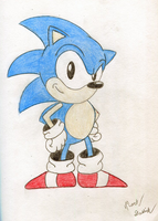 Sonic The Hedgehog by Megaman-NetNavi
