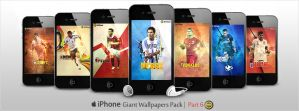 Giant Pack of iPhone Walls - Part 6 by WalidGFX
