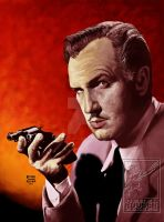 VINCENT PRICE by MalevolentNate