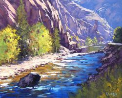 Colorado River by artsaus
