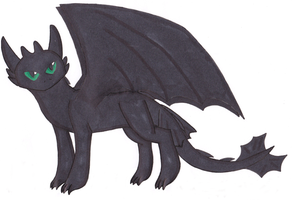 Toothless by charlotte199056