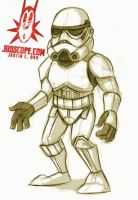 Junior Storm Trooper by jusscope