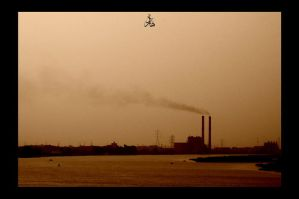 Smoke over the nile sky by mounirian128