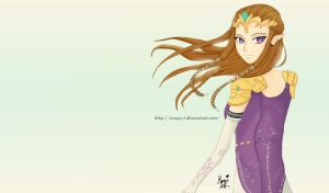 Zelda Twilight Princess by mayu3