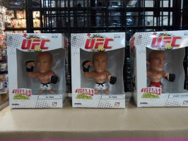 UFC Bobble Heads by CarlosAE