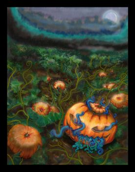 Pumpkin Patch by pixiewraith