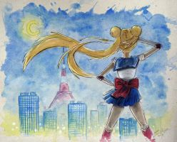 Moonlight Soldier - Sailor Moon by AdamScythe