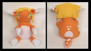 Tangerine Plush by Mermade4u