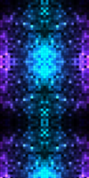 Purpue Pixels (Glow Version) by darkdissolution