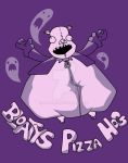 bloaty pizza hog t-shirt by santiw93