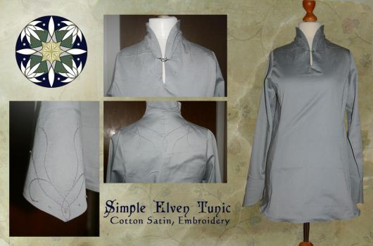 Simple Elven Tunic by Anylon