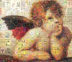 Cupid Mosaic by Cornejo-Sanchez