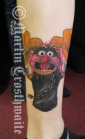 Animal Muppet Cover Up Tattoo by mxw8