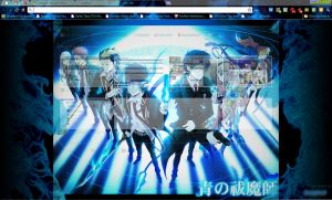 Blue Exorcist Chrome Theme by Seraphoid