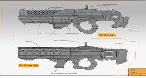 Heavy Assault Rifles by MAKS-23