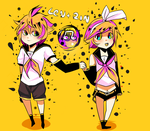Kagamine by colossalphunk