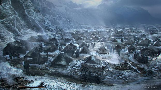 Stanis Camp for Game of Thrones by emanshiu