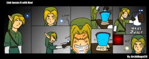 Link looses It with Navi by ArchXAngel20