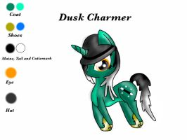 Dusk Charmer ADOPTABLE! SOLD! by Peach-the-mouse