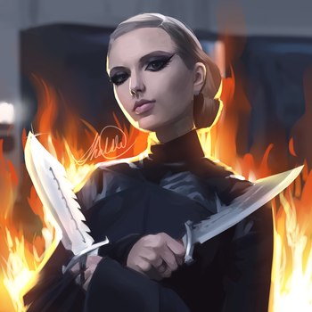 Bad Blood by HalChroma