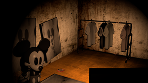 Suicide Mouse in Cam 3 remake by Photo-NegativeMickey