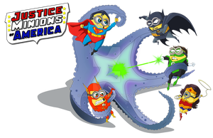 Justice Minions of America by jmascia