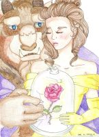 Beauty and the Beast- Love by Kelly-ART