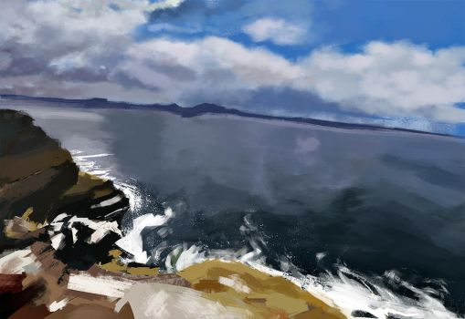 plein air study 1 by inhereisatragedy