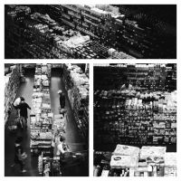 Stories of daily loneliness #5: supermarkets by d-s-foto